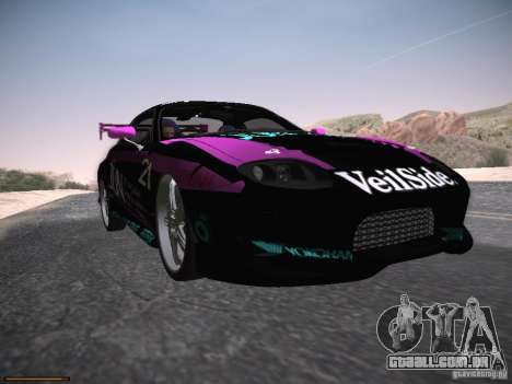 Mitsubishi FTO GP Veilside para GTA San Andreas vista inferior