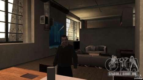 Caseira camisola com gola para GTA 4 terceira tela