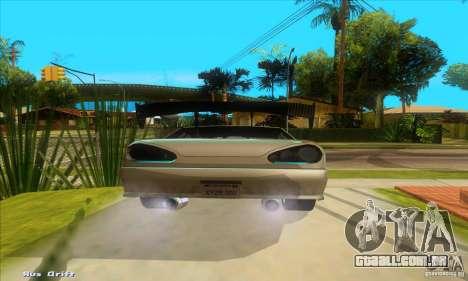 Elegy for the clan GSD para GTA San Andreas traseira esquerda vista