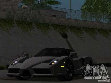 Ferrari Enzo Novitec V1 para GTA San Andreas vista traseira