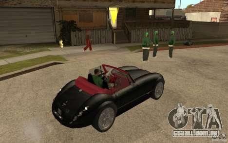 Wiesmann Roadster MF3 para GTA San Andreas vista direita
