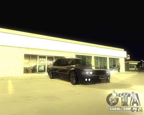 BMW 740i Update para GTA San Andreas
