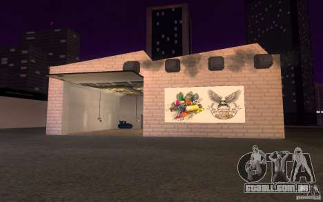 HQ Auto Salon em San Fierro exclusivo Autos para GTA San Andreas por diante tela