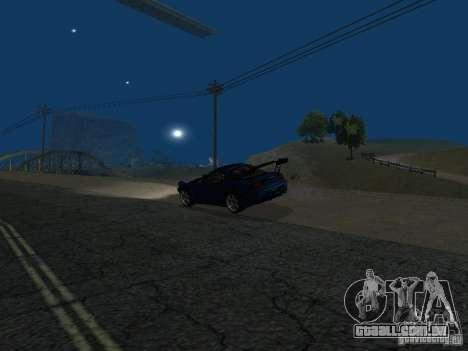 Mazda RX-7 para GTA San Andreas vista traseira