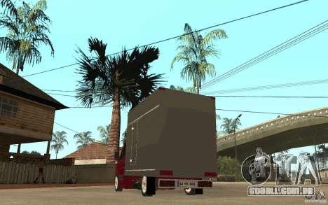 Volkswagen Crafter Case Closed para GTA San Andreas traseira esquerda vista