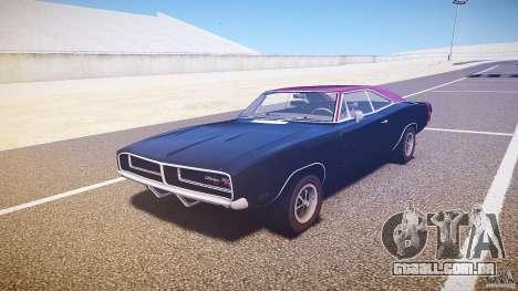 Dodge Charger RT 1969 v1.0 para GTA 4