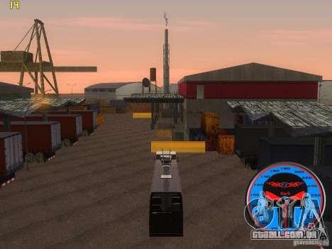 Trólebus LAZ-52522 para GTA San Andreas traseira esquerda vista