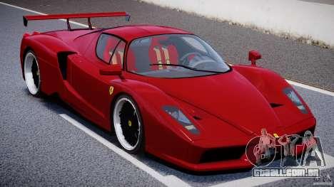 Ferrari Enzo para GTA 4 interior