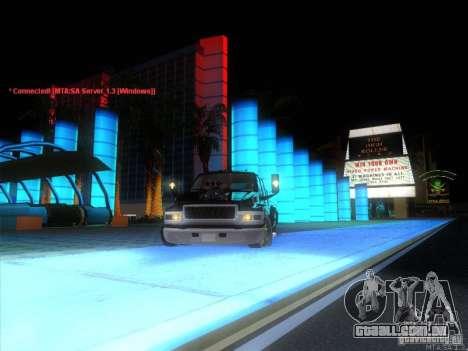 GMC C4500 Pickup DUB Style para GTA San Andreas vista superior