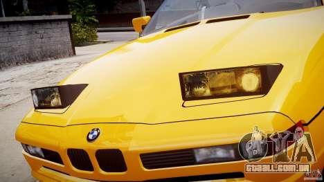 BMW 850i E31 1989-1994 para GTA 4 motor
