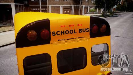 School Bus [Beta] para GTA 4 rodas