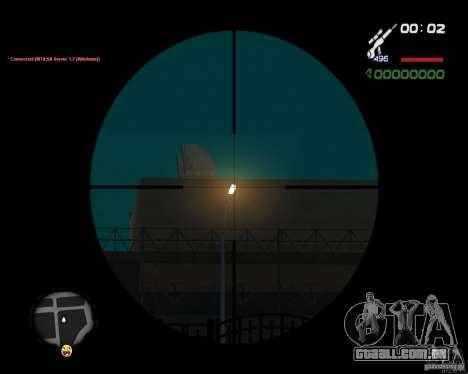 Sniper para GTA San Andreas por diante tela