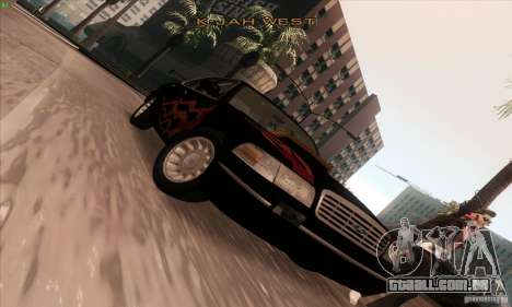 Ford Crown Victoria 2003 para GTA San Andreas vista superior