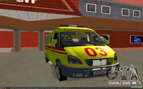 Gás de emergência para GTA San Andreas