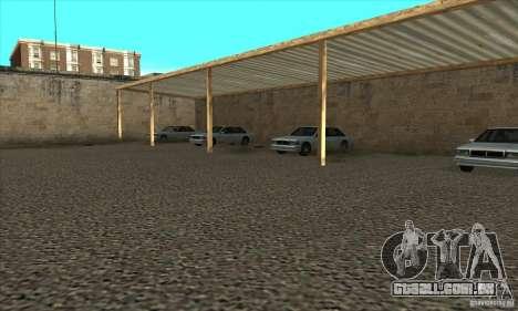 Renovação de condução escolas em San Fierro para GTA San Andreas quinto tela