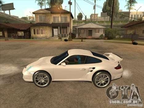 Porsche 911 GT2 para GTA San Andreas esquerda vista