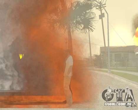 Tornado para GTA San Andreas por diante tela