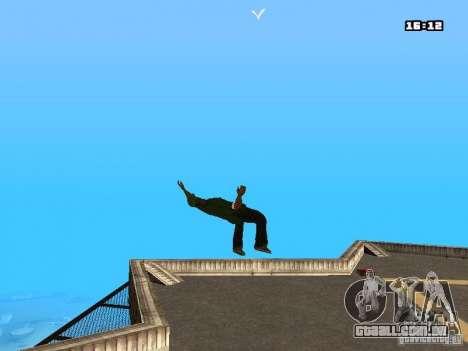Parkour Mod para GTA San Andreas terceira tela