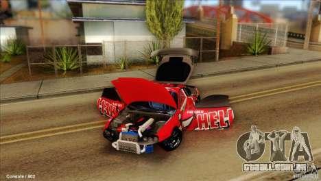 Toyota Supra HELL para GTA San Andreas
