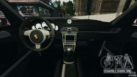 Porsche 997 GT2 Body Kit 1 para GTA 4 vista de volta