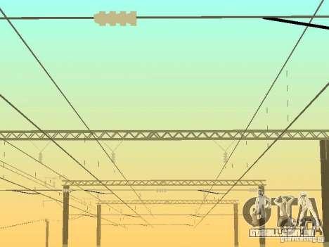 Suporte de rede de contactos, v. 2 para GTA San Andreas terceira tela