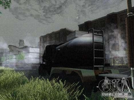 Reboque blindado combustível Mack Truck Titan para GTA San Andreas
