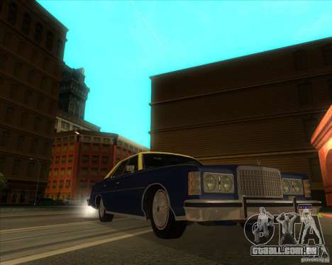 Ford LTD Brougham 4 door 1975 para GTA San Andreas vista direita