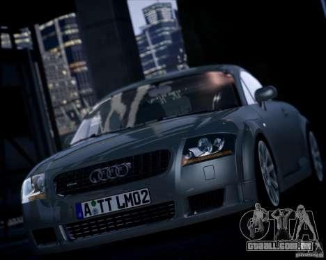 Audi TT 2004 para GTA 4 traseira esquerda vista