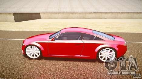 Audi Nuvollari Quattro para GTA 4 traseira esquerda vista
