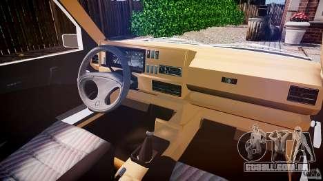 Volkswagen Jetta MKII VR6 para GTA 4 vista direita