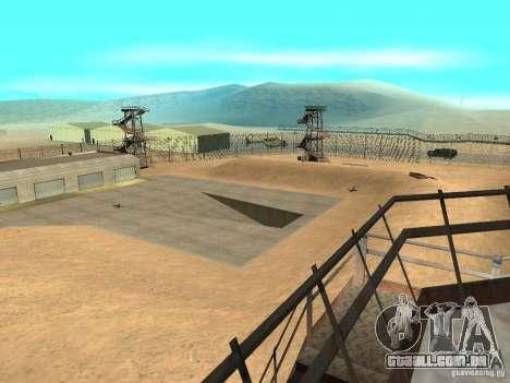 Animada área 69 para GTA San Andreas
