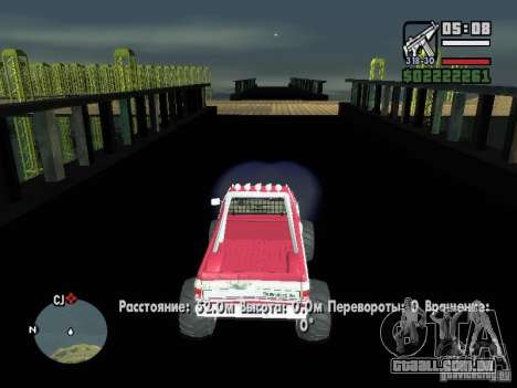 Monster tracks v1.0 para GTA San Andreas por diante tela