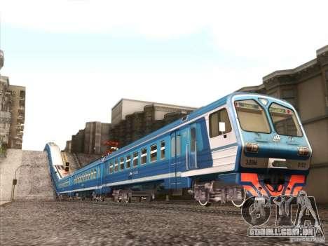 TrainCamFix para GTA San Andreas segunda tela