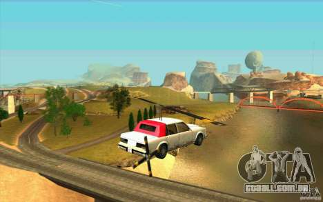 Avtolët para GTA San Andreas vista direita