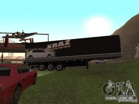 Novo trailer para GTA San Andreas vista superior
