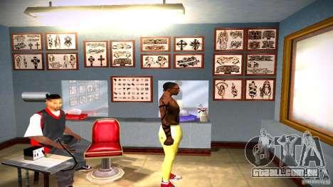 Três nova tatuagem para GTA San Andreas twelth tela