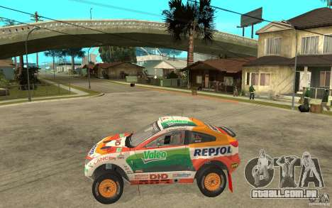 Mitsubishi Racing Lancer para GTA San Andreas esquerda vista
