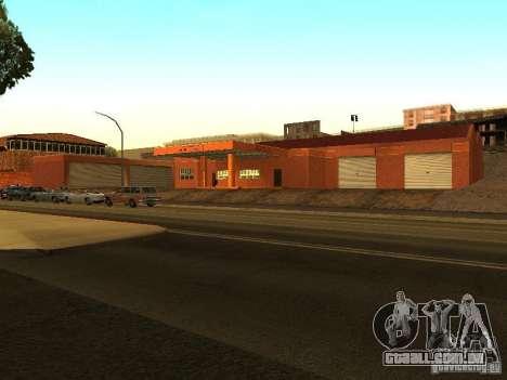 Nova garagem em Dorothy para GTA San Andreas