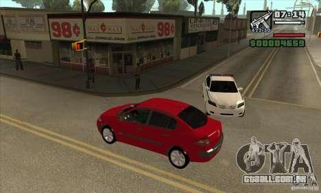 Conduziu a uma estrela vermelha-get para GTA San Andreas