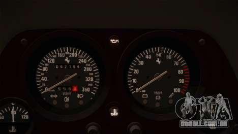 Ferrari F40 1987 para GTA San Andreas interior