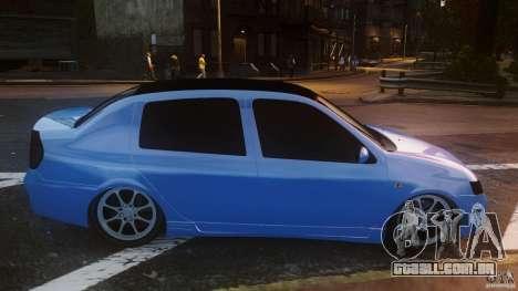 Renault Clio Tuning para GTA 4 esquerda vista