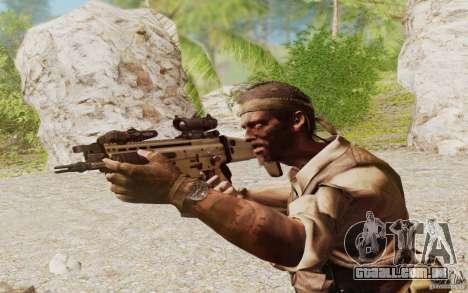 FN Scar L para GTA San Andreas terceira tela