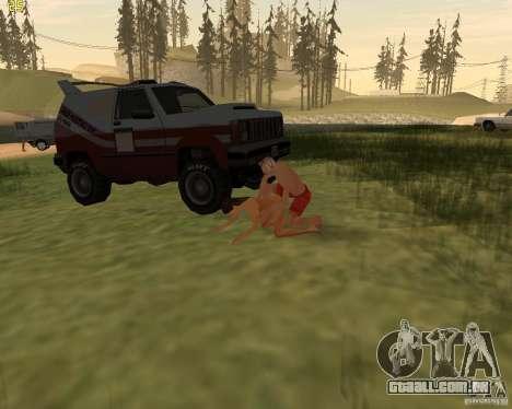 Festa da natureza para GTA San Andreas décima primeira imagem de tela