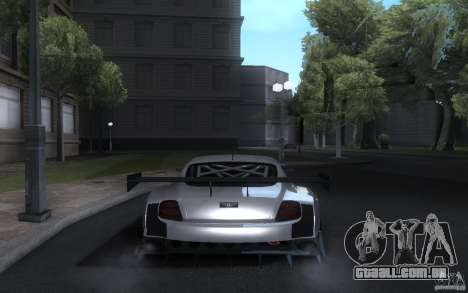 Bentley Continental Super Sport Tuning para GTA San Andreas vista traseira
