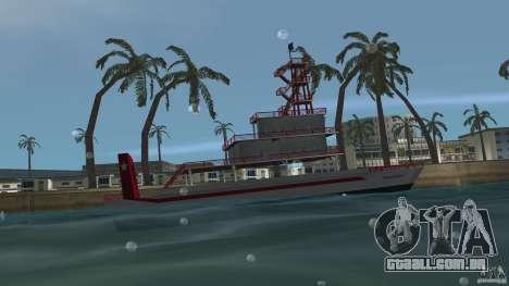 Ferry para GTA Vice City deixou vista