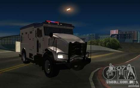 Securicar do GTA IV para GTA San Andreas vista direita