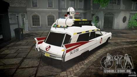 Cadillac Ghostbusters para GTA 4 vista interior