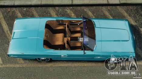 Ford Thunderbird Light Custom 1964-1965 v1.0 para GTA 4 vista direita