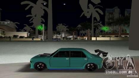 Zastava 110 GT para GTA Vice City vista traseira