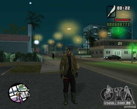 Jason Voorhees para GTA San Andreas segunda tela